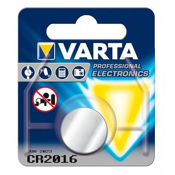 Lithium Button Cell Battery Varta 220842 3 V Silver