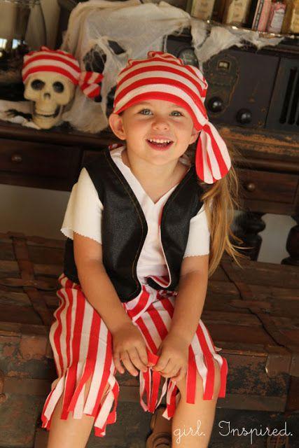 kcwc fall 2012: Pirate Costume - girl. Inspired.