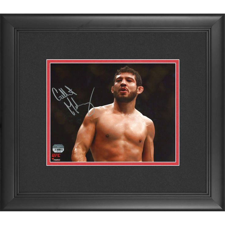 Gilbert Melendez Ultimate Fighting Championship Fanatics Authentic Framed Autographed 8'' x 10'' Standing In Cage Photograph - $71.99