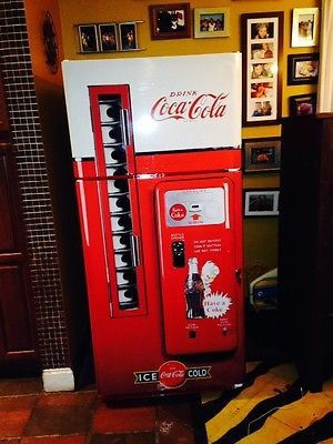 Coke Vending Machine Refrigerator Wrap Sticker