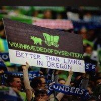 Seattle Sounders Fan Keeping it Real
