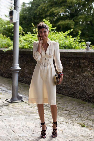 need this airy, chic cream dress.