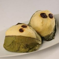 Quimbolitos sweet steamed puddings, are a snack favorite in Ecuador