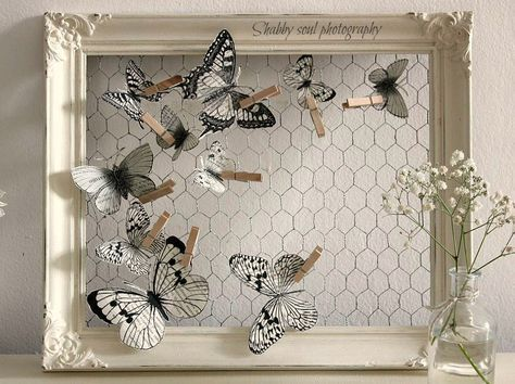 145 best dolci insetti images on pinterest butterflies for Linge shabby chic