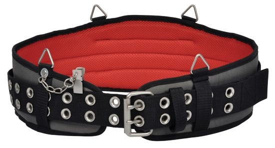 """Electricians tools belt from Magma C.K Tools    The tough, heavy-duty, extra wide construction of the C.K Magma Padded Tool Belt MA2723, offers great comfort and support. The belt features:      A wide range of waist sizes covered - 32"""" to 42""""     4 metal loops for attachment to the C.K Magma braces     A unique securing clip which stops the belt pulling through the loops - very convenient when putting a loaded belt on, or taking it off  #electrician #electriciantoolbags #electriciantools…"""