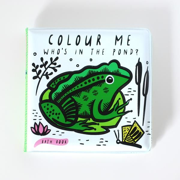 Bath Book: Who's in the Pond?
