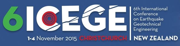 #geocongress 6ICEGE - 6th International Conference on Earthquake Geotechnical Engineering. Christchurch, New Zealand. 02 Nov 2015 → 04 Nov 2015. I am delighted to invite you to join us at the 6th International Conference on Earthquake Geotechnical Engineering (6ICEGE) in Christchurch, New Zealand, 1-4 November 2015. Following the highly successful conferences in Tokyo 1995, Lisbon 1999, Berkeley 2004, Thessaloniki 2007 and Santiago 2011, this will be the sixth in the series of specialized...