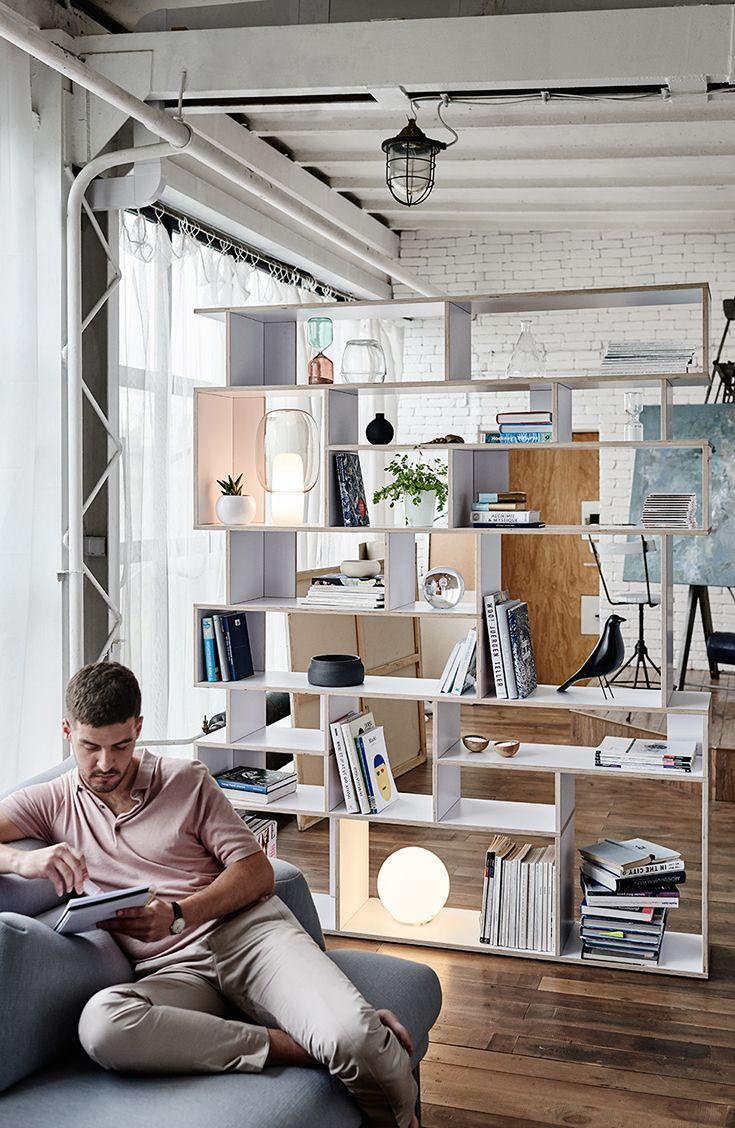 Anpassungsfähige Regale für anpassungsfähige Räume! Erstellen Sie mit Tylko Ihren eigenen maßgeschneiderten Wandspeicher aus Holz! Wählen Sie das Design, die Farbe und die Maße für eine perfekte …