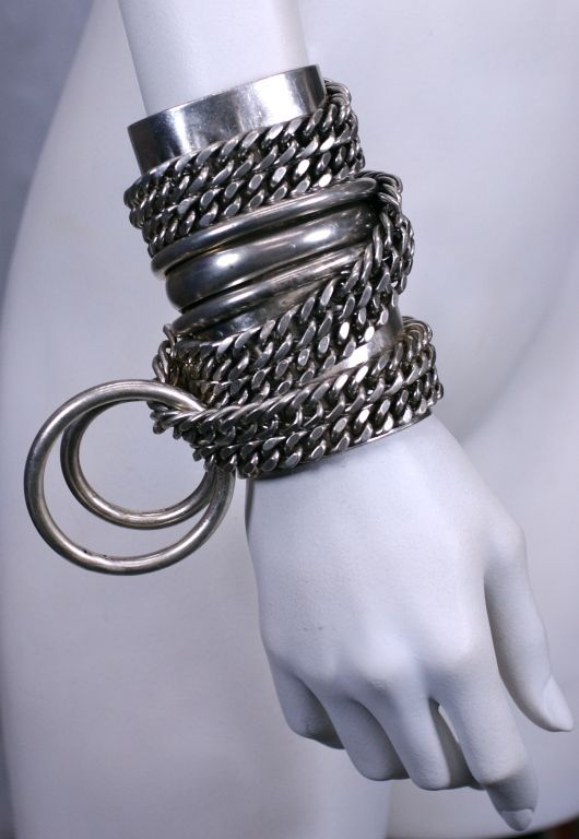 Heavy Metal Chain Cuff, MWLC 3