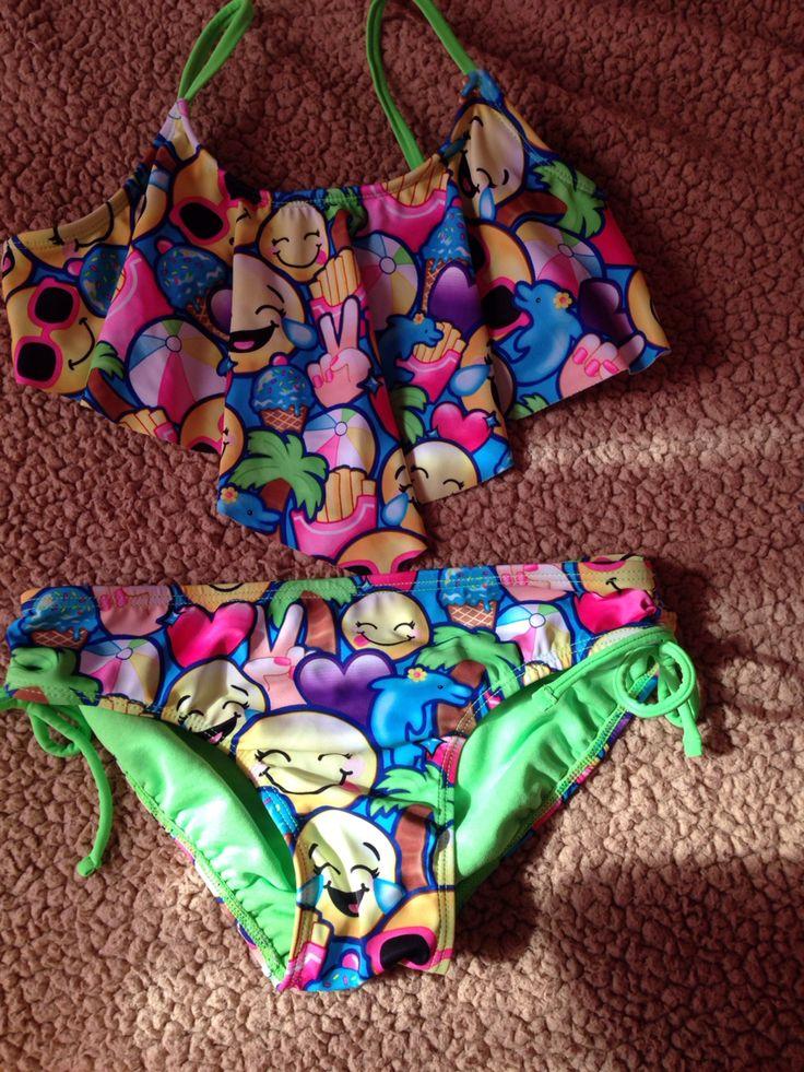 Emoji bathing suit