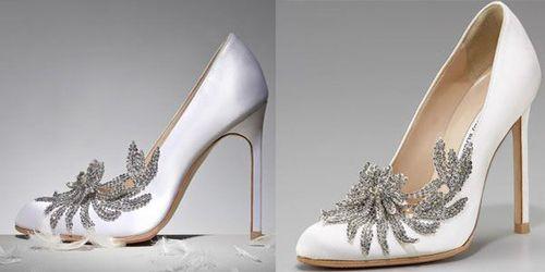 Wedding Shoes Manolo Blahnik For Bella In Breaking Dawn Large