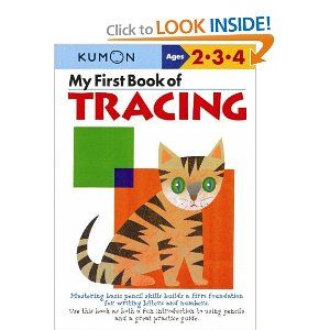 My First Book Of Tracing (Kumon Workbooks) / as interested
