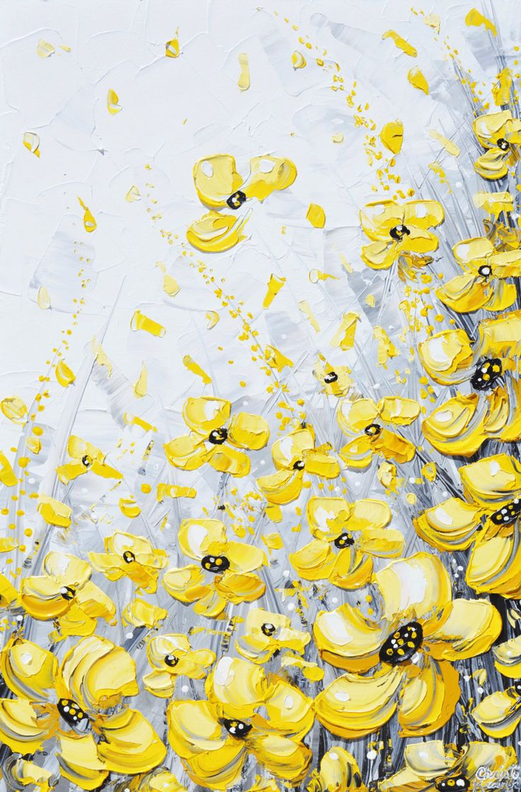 17 best ideas about painting flowers on pinterest paint for White paint going yellow