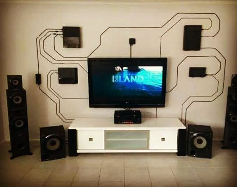 This is such a dope way to set up consoles huge props! Looks sick! #tbggamingsetups