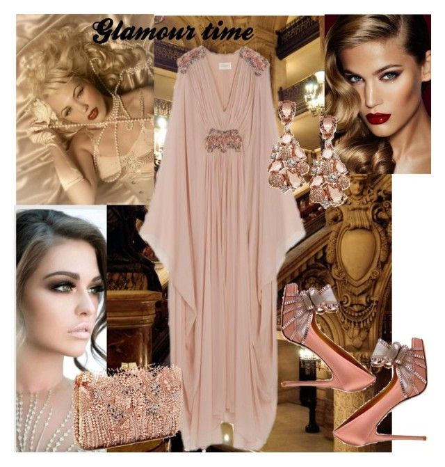 """GLAMOUR TIME"" by kidsfashion001 on Polyvore featuring Marchesa and Charlotte Tilbury"