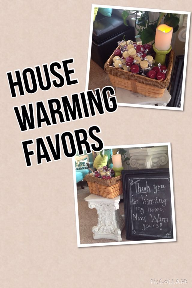 House Warming Favors Party Home Candles My Creations