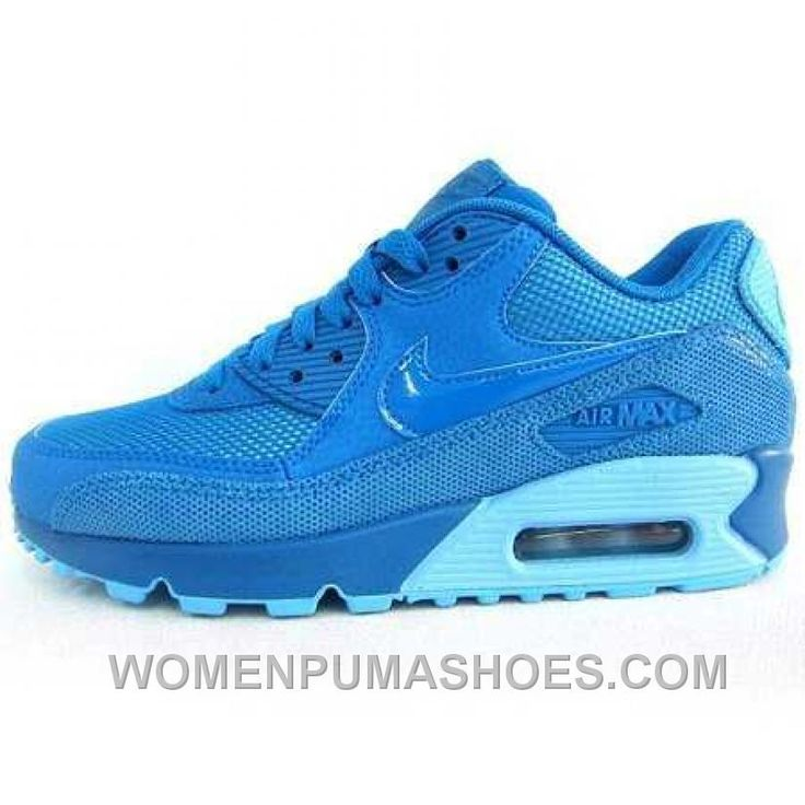 http://www.womenpumashoes.com/nike-air-max-90-womens-blue-online-g6pk6.html NIKE AIR MAX 90 WOMENS BLUE ONLINE G6PK6 Only $74.00 , Free Shipping!