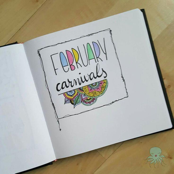 Carnival month 🎉🎉🎭🎭🎭🎉🎉 #carnivals #february #lettering #inspirationalquote #quotes  #amytangerine #fangerine #silviadeleonhandmade