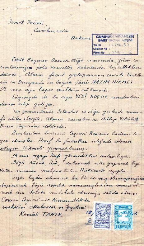 Murat Bardakçı - Cumhurbaşkanlığı Arşivi'ndeki yayınlanmamış Nâzım belgeleri - HABERTÜRK