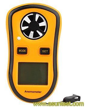 instrumento de medición: Air velocity measurement