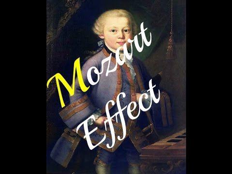 EFECTO MOZART : 100% Mozart para estimular tu CREATIVIDAD- INTELIGENCIA-RELAJACIÓN ¡Comprobado! - YouTube