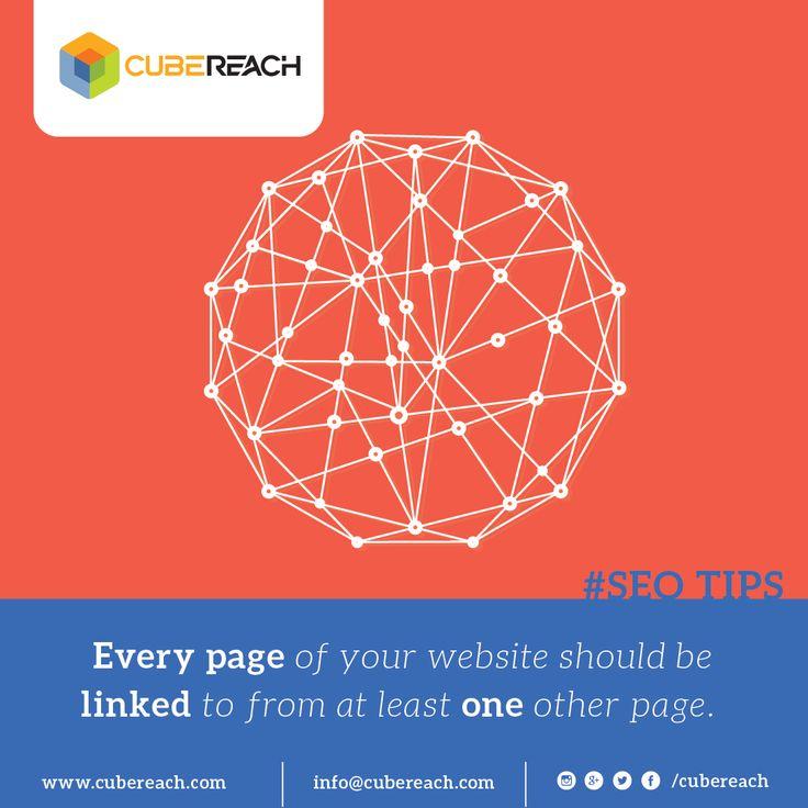Effective inter-linking within website helps SEO. cubereach.com #internallinks   #backlinks   #linkbuilding   #seoindubai   #dubaiseo   #seo   #seotips