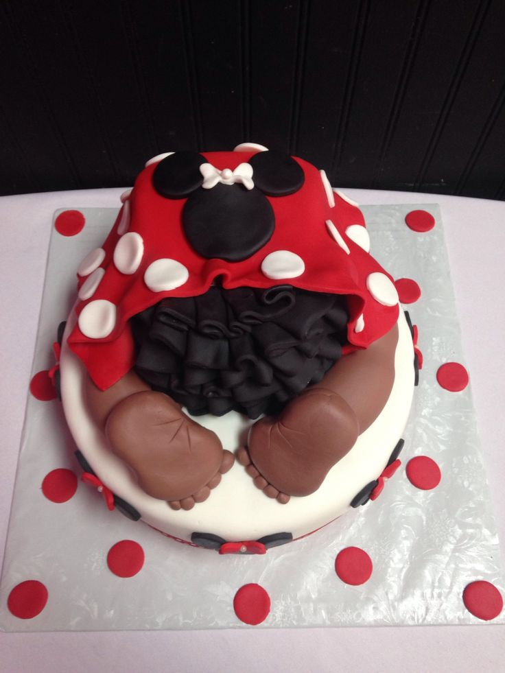 minnie mouse baby shower bake my day creations