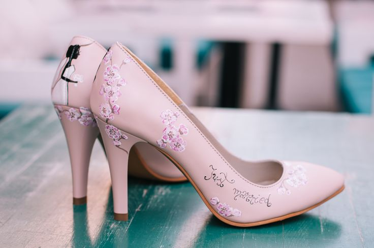 Handpainted stiletto by Diane Marie