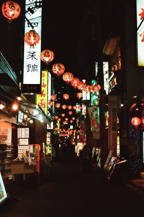 Sunday night chinatown / hisa foto