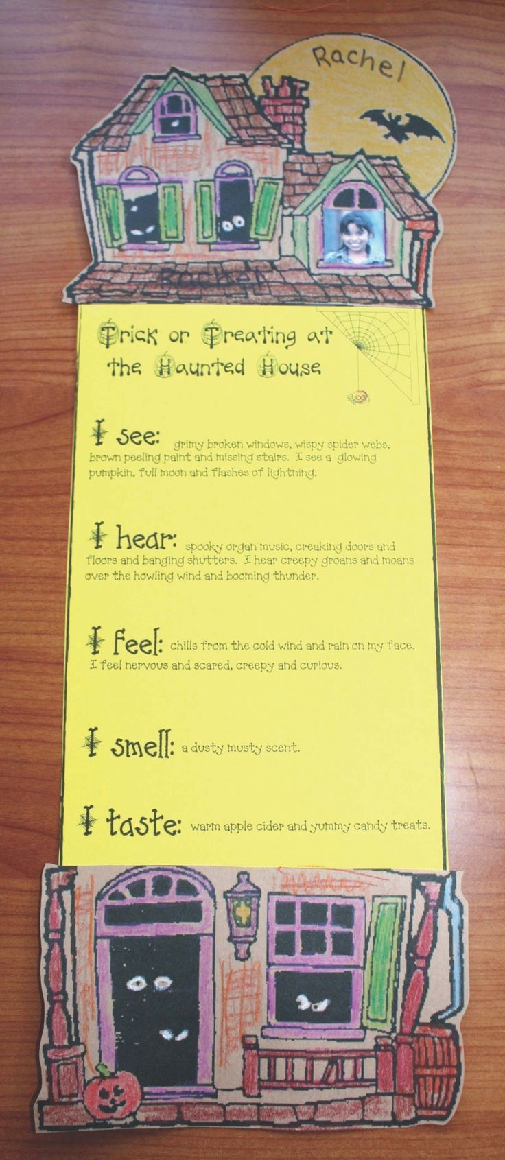 Haunted House 5 Senses Writing Prompt Craft