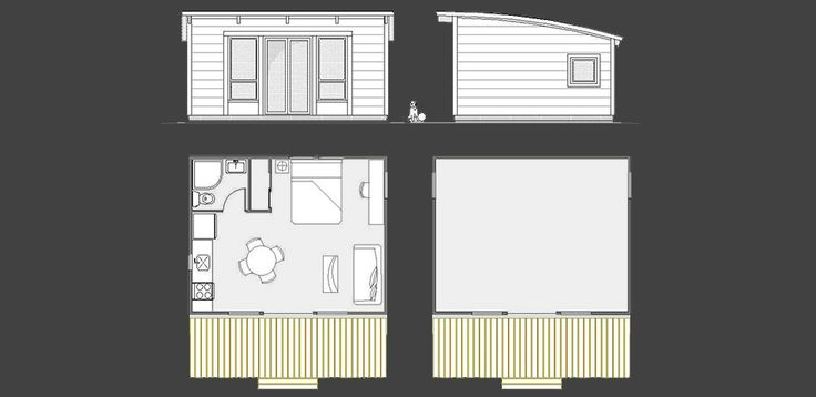 Maxwell 16x20 Tiny Homes Pinterest Cabin Minimalist