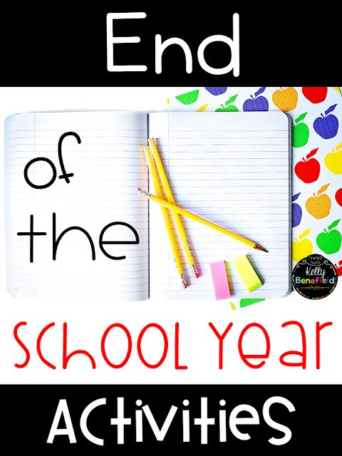 Teaching Fourth: End of the Year Activities
