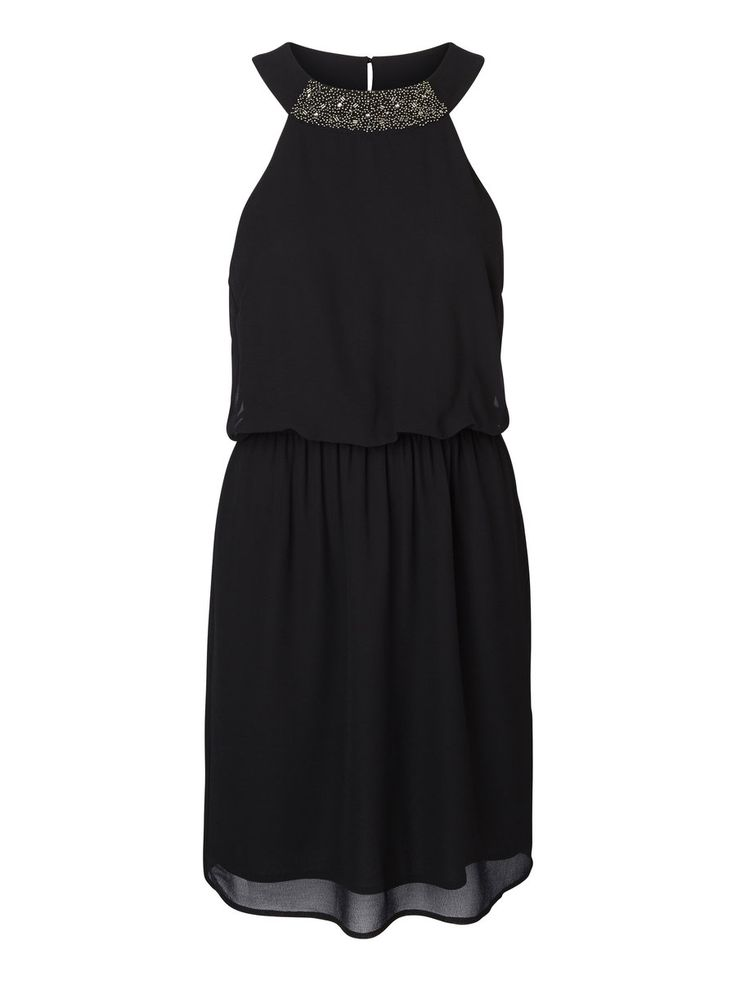 Black party dress from VERO MODA. Get ready for the biggest party of the year!