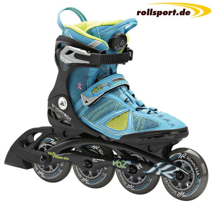 >> Oster-Angebot! << Damen 90mm Inline Skate für nur 229.00 € Der K2 VO2 90 Boa W im Angebot! http://www.rollsport.de/k2-vo2-90-boa-w-2014-damen-fitness-inliner-p-13202.html