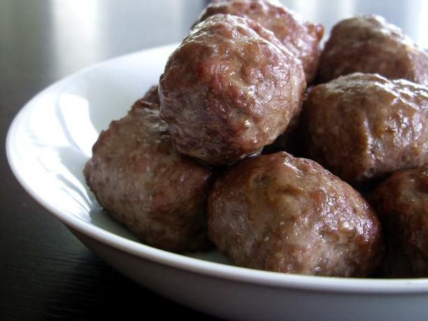 Melt-In-Your-Mouth Meatballs (use almond meal in place of breadcrumbs)