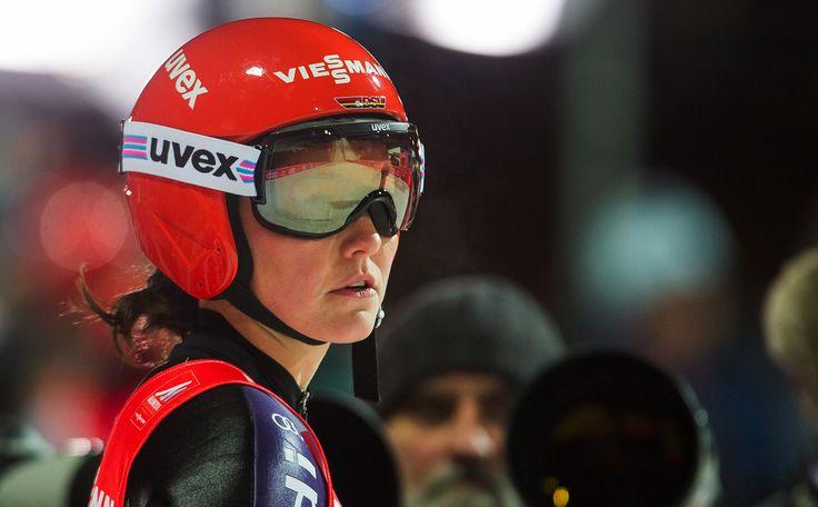 uvex athletes - ski jumping // Carina Vogt