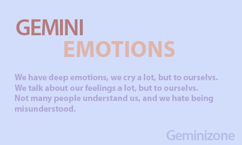 Gemini Zone - This is so true.