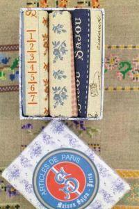 Gift box three Sajou fabric swatches - 50 x 55cm