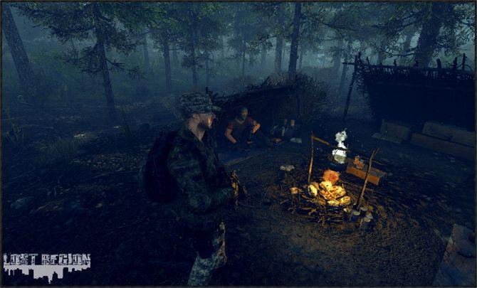 三人称サバイバル『Lost Region』最新ショット!全ての建物を探索可能 | Game*Spark - 国内・海外ゲーム情報サイト