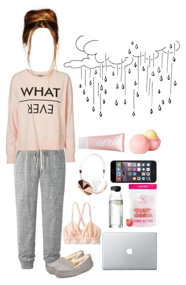Lazy Days By Passi0n4fashi0n Liked On Polyvore Featuring Uniqlo American Eagle Outfitters Vero Moda Ugg Australia M Clothes For Women Vero Moda Clothes