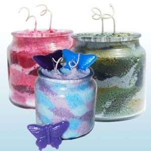 Granulated Wax Candle Making Nature 39 S Garden Candles Crafts Pinterest Gardens Soaps And