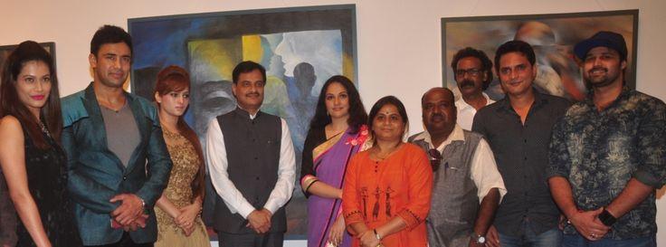 Payal Rohatgi, Sangram Singh, Renu Chaudhary, Urban Development Minister Ranjeet Patil, Gracy Singh, Jyotsna Sonawane, Vishnu Sonawane, Vishwa Sahni, Rahat Kazmi & Mudasir Ali