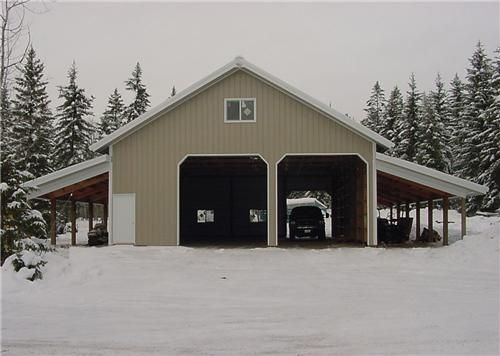 1000 images about rv barn on pinterest shops metal for Rv garage plans with living space
