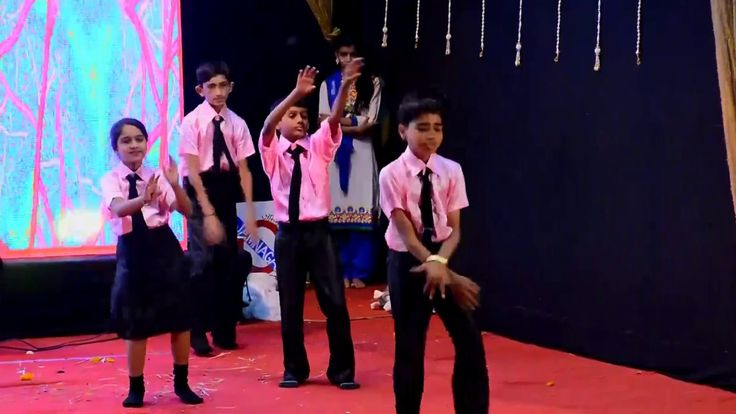 08 Technology Theme Dance – M.S. School Annual Day 2016-17