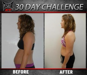Stephanie 30 Day TapouT XT Results