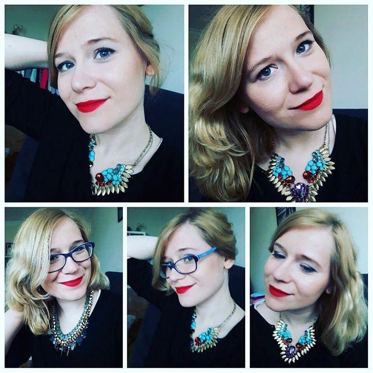 Kiedy kumpela przychodzi uczyć Cię angielskiego i wpada w Twoje ręce. Czerwone usta muszą być! #redlips #mac #rubywoo #naked2 #redlipstick #makeup #polishgirl