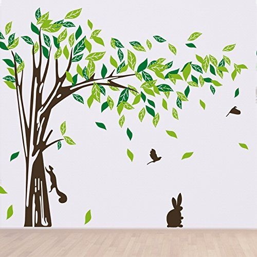 17 meilleures id es propos de autocollants d 39 arbre for Decoration murale a coller
