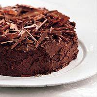 Recept - Chocolade-kastanjetaart - Allerhande