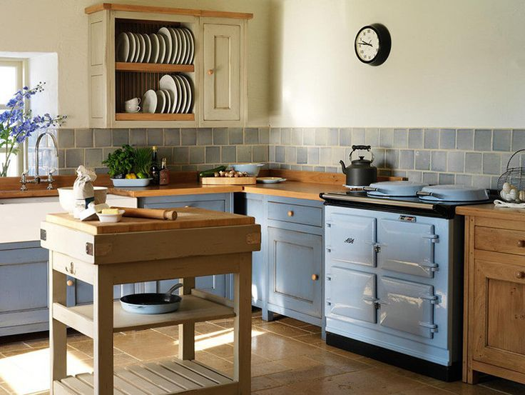 The kitchen in the style of Provence - AGA cooker