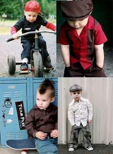 Rockabilly looks for little boys ...
